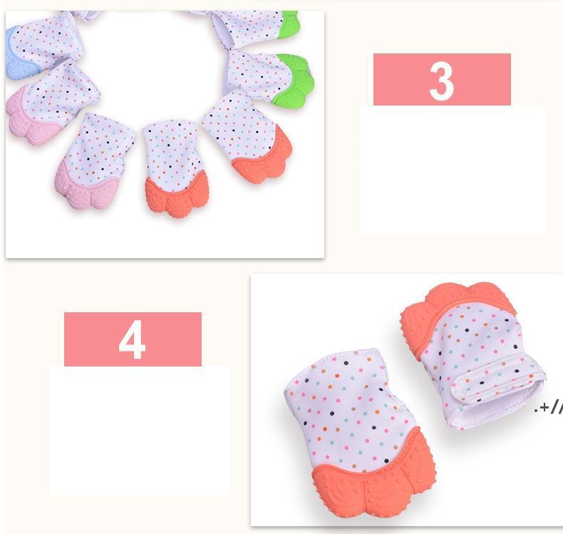 Baby Teether Перчатки Скрипфированные молотые зубы жевать звуковые игрушки милые зубы детские игрушки Newborn Teathing Palhing Painting Painting Toys AHD6356
