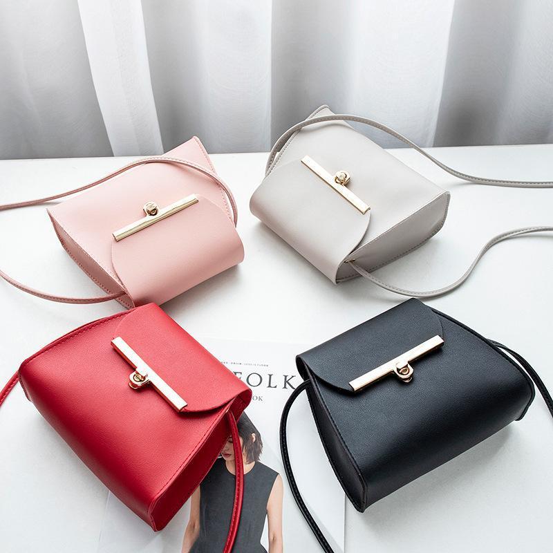 1 шт. Новый простые лоскутные плавники PU кожаные сумки для вагонов для избранных девушек чистый цвет мини-мессенджер грудь мешок с крестообразным сумочками FEMININA
