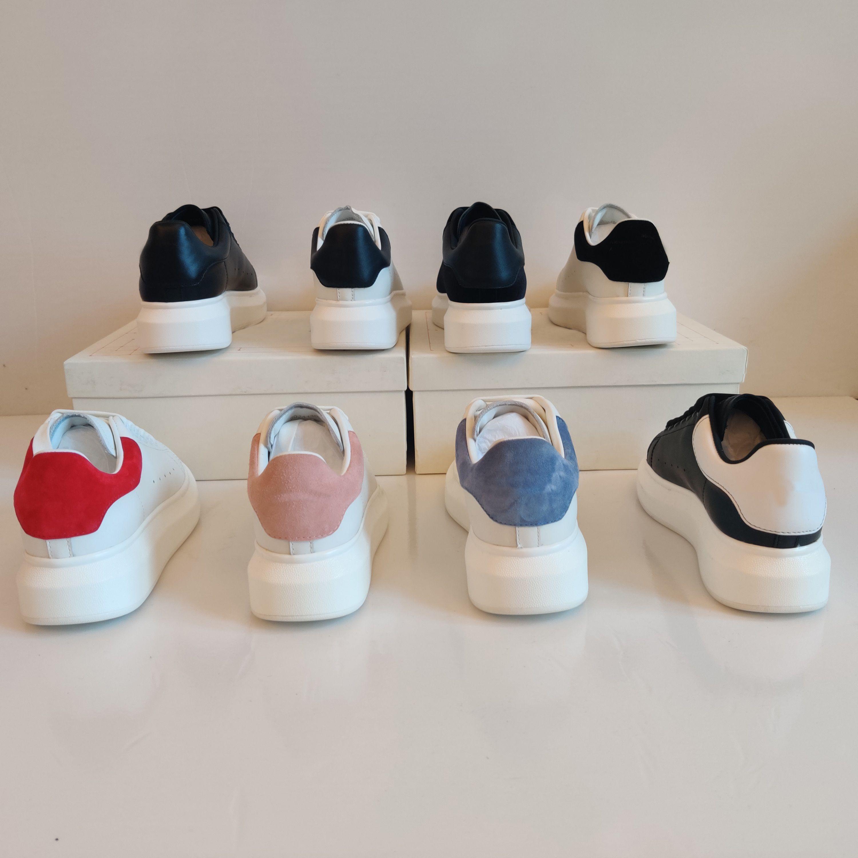 Классические повседневные туфли мужчины женские кожаные кружева комфорт красивые Chaussure Mens Trainers ежедневный образ жизни скейтбординг обувь с полной упаковкой