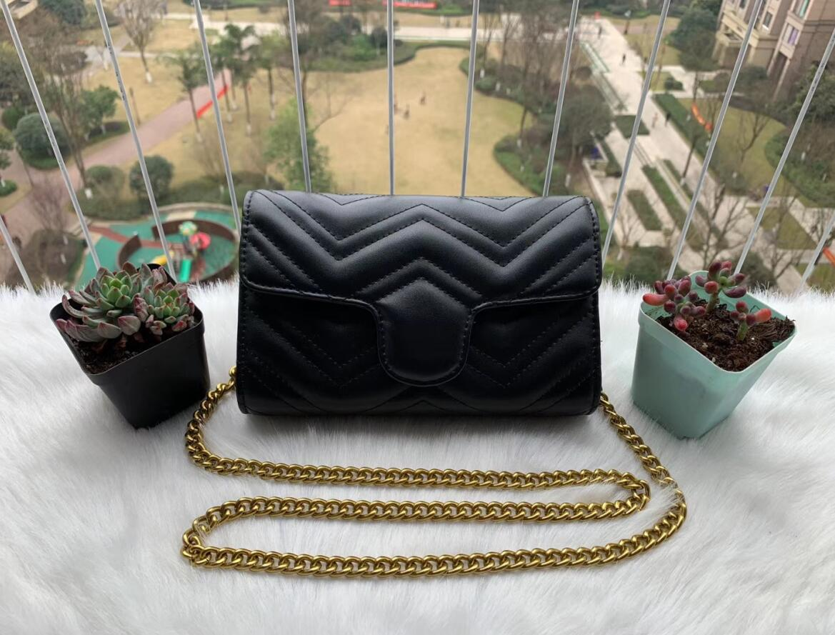 High Quality New Women Handbags Gold Chain Shoulder Bags Crossbody Bag Messenger Bag Purse Wallet 5 colors