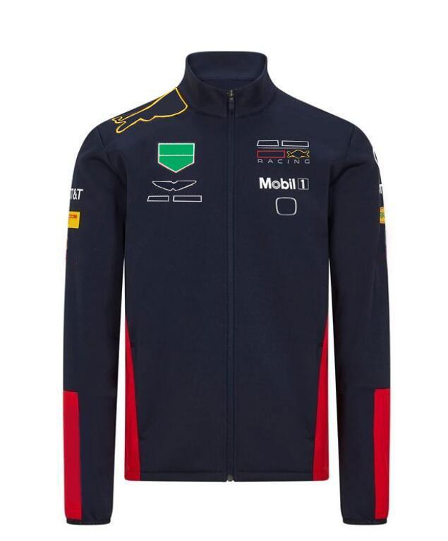 F1 Formula One Polyester Racing Racing Quick-Sèche-sweat-shirt à manches longues Ensemble d'équipe 2020 McLaren McL35 Pull Veste avec la même coutume