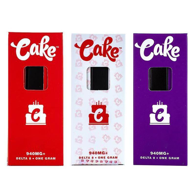 케이크 일회용 전자 담배 장치 detal 8 증기 1.0ml 빈 카트리지 충전식 기화기 두꺼운 오일을위한 280mAh 배터리 vape