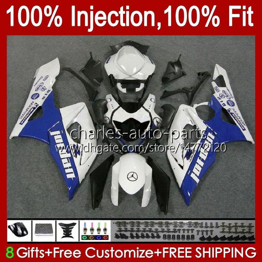 KIT + COWL PARA SUZUKI GSXR 1000 GSX-R1000 GSXR1000 2005 2006 Cuerpo 11HC.37 GSXR-1000 05 06 K5 Bodywork GSX R1000 05 06 Factory Blue Failings