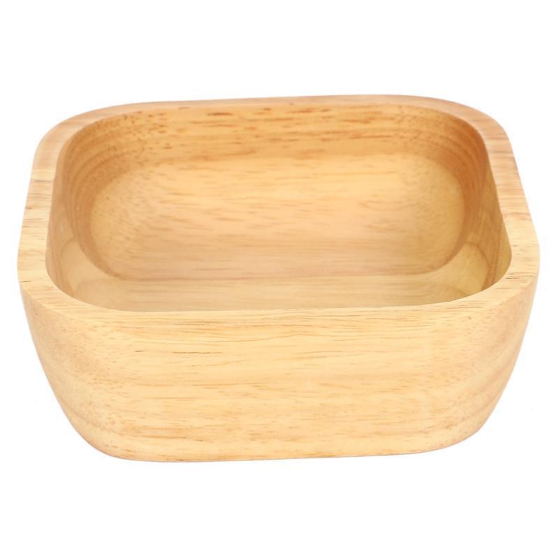 Herramientas 1 unids tazón de madera para sopa arroz fideos cuencos niños almuerzo caja de cocina vajilla bebé alimentación contenedores