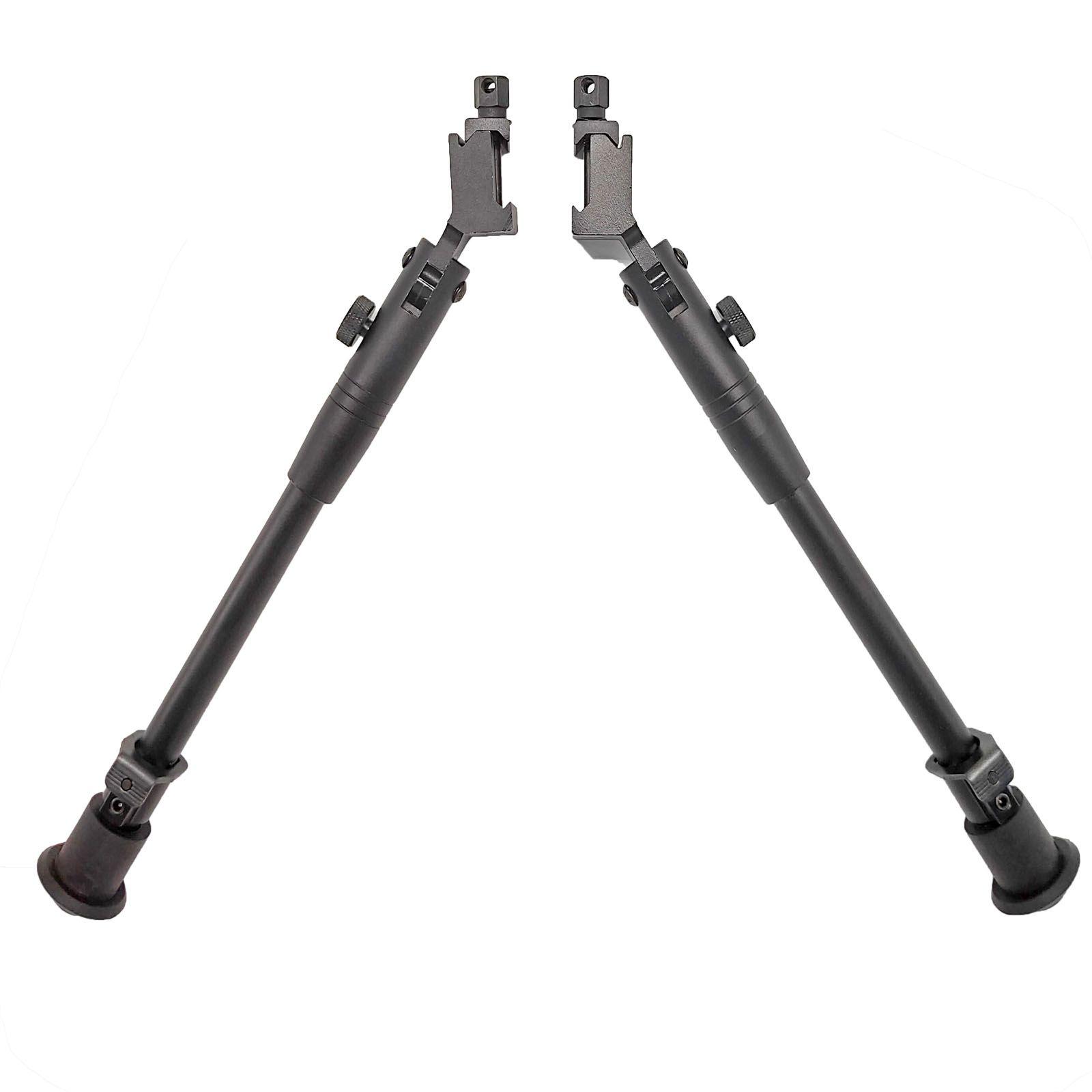 Dual BiPod a doppio BiPod Tactical Tactical da 9-12 pollici con kit di binari Picatinny