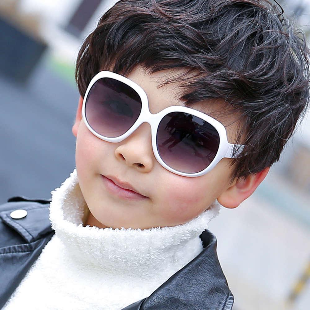 Óculos de sol meninos meninos meninas óculos de sol bebê criança anti ultravioleta vidro sol visores de vidro de toad