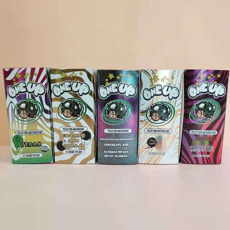 Caixas de embalagem de caixa de embalagem OneUP 3.5grams por Barra de Chocolate One Up Vegan Pack Bag Packs