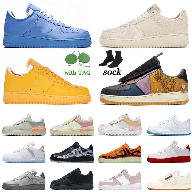 force 1 forces af1 Cactus Jack Shadow airforce off white Low MCA MOMA stock x 2020 Tasarımcı yeni Tropikal eğitmenler Womens Koşu Ayakkabıları Siyah Lüks Marka moda spor sneakers