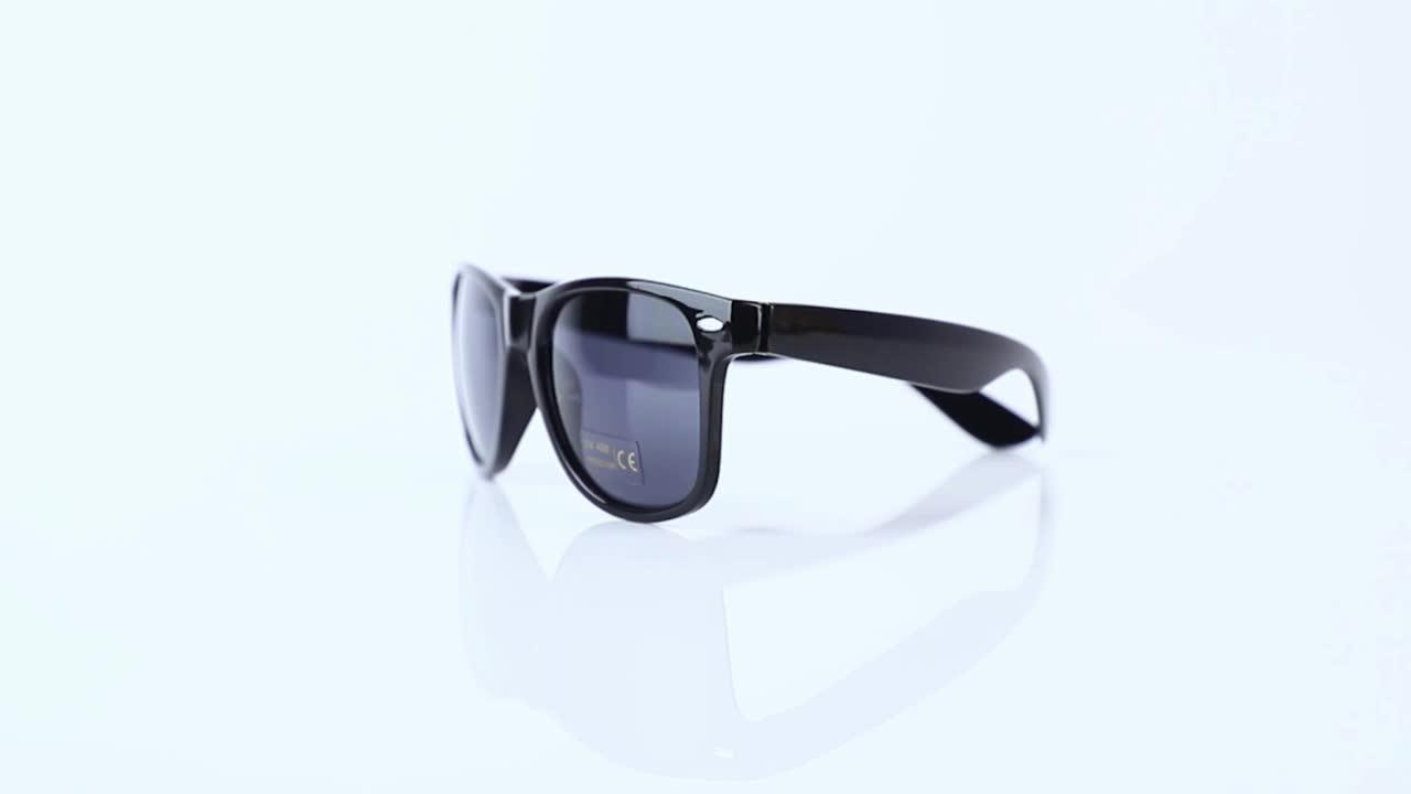 Venta al por mayor 2020 Promocional Moda Plástico Barato Logotipo personalizado Etiqueta Privada UV400 Hombres Mujeres Sombras Gafas de sol Gafas de sol 2021
