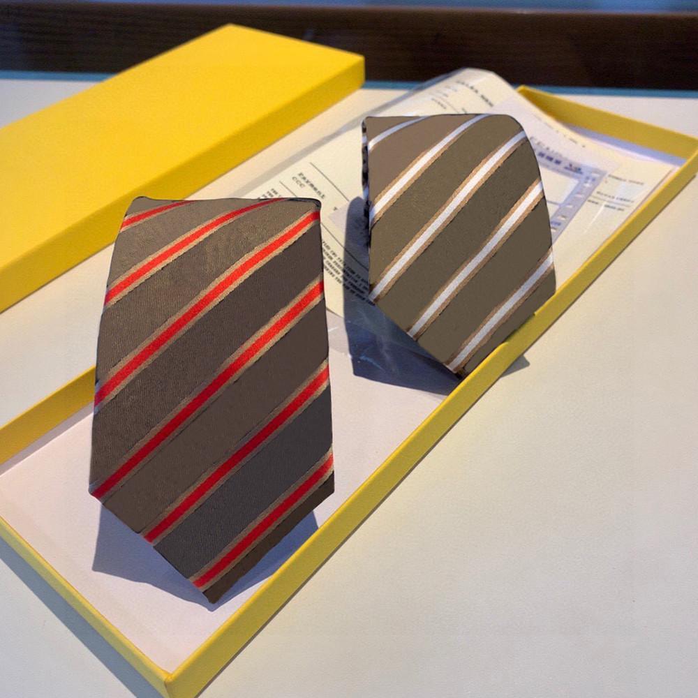 Cuello de seda de alta gama Diseño de moda Mens Business Lazos de seda Corbatas Jacquard Empresar corbata Cuello de boda HBSF
