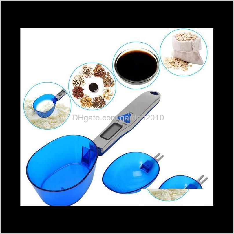 300G01G 500G01G Three Spoons Electronic Portable Scale Mini Kitchen Spoon Weighing Scales Measurement Analysis Instruments Ha772 Uat1 6Xf2P
