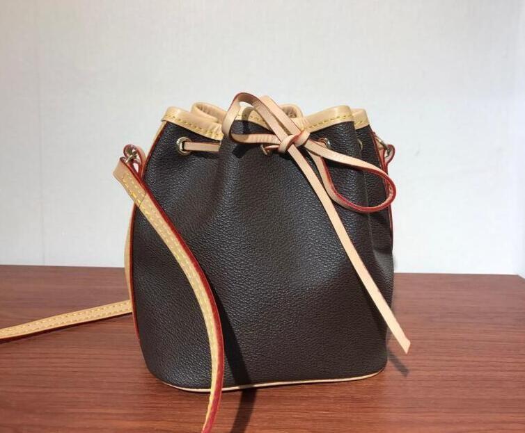 Top Quality Mini MINI MOSTRI PULINO SHOOD BAG NANO NOE Borse Donne Genuine Totes High Messenger Handles Handbags M41346