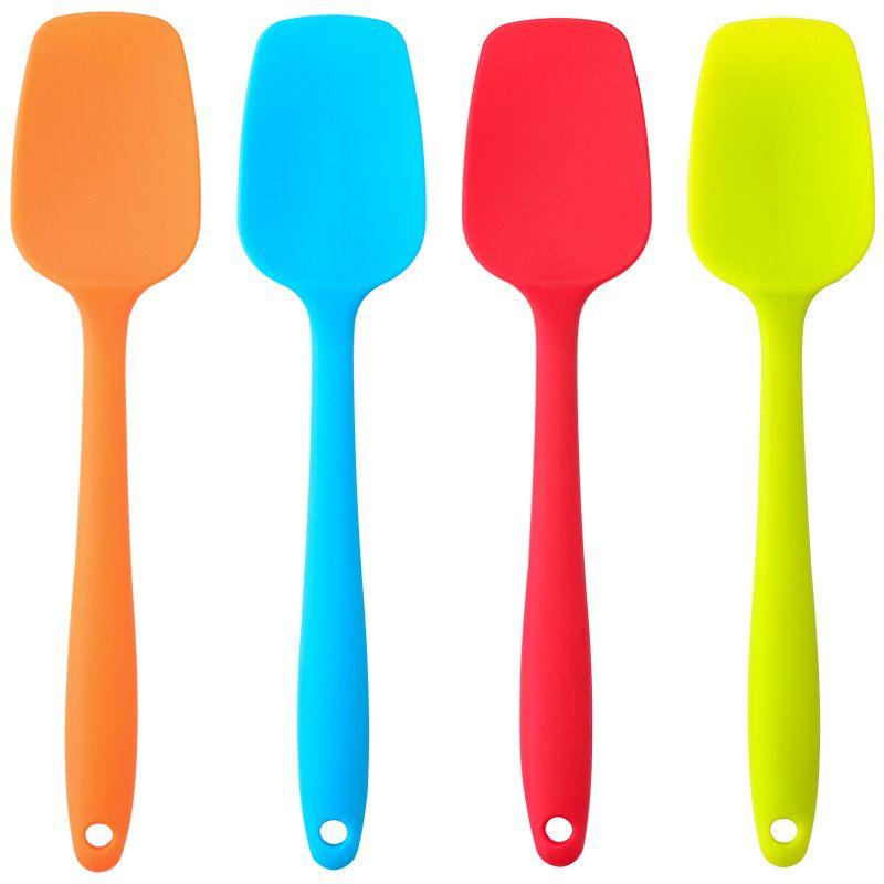 2021 Silicone spatula cake baking-spatula large butter-spatula tool