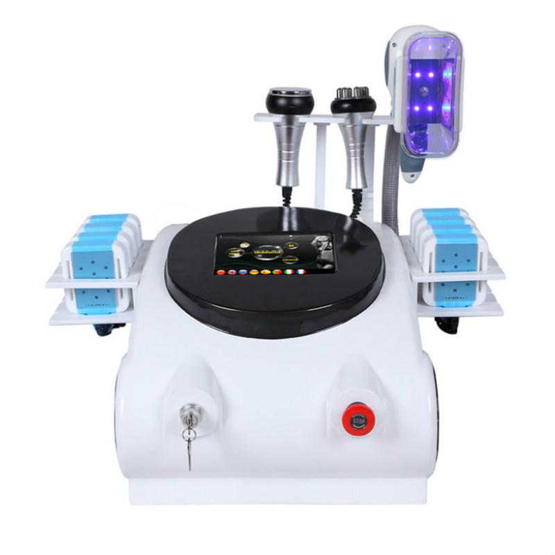 2020 Cryolipólizas portátiles de la grasa congelación de la grasa Máquina para adelgazar la liposucción no invasiva La eliminación de grasa con congelación con la manija de Singal CE