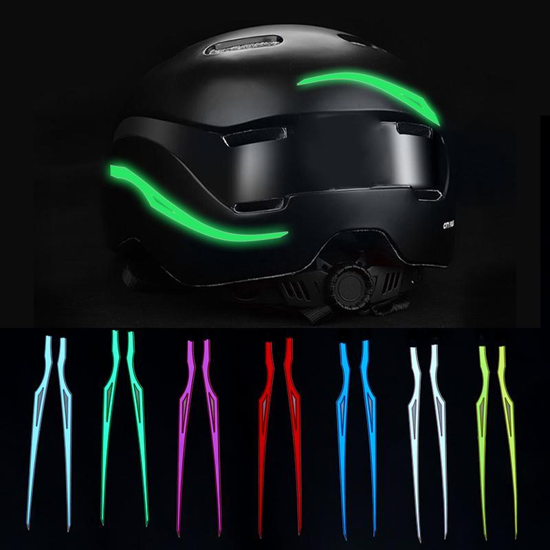 2 stücke ed light durable cutable 3V driver wasserdichte motorrad bar signal sicherheit nacht reiten pvc blinker streifen helm kit diy moto aufkleber