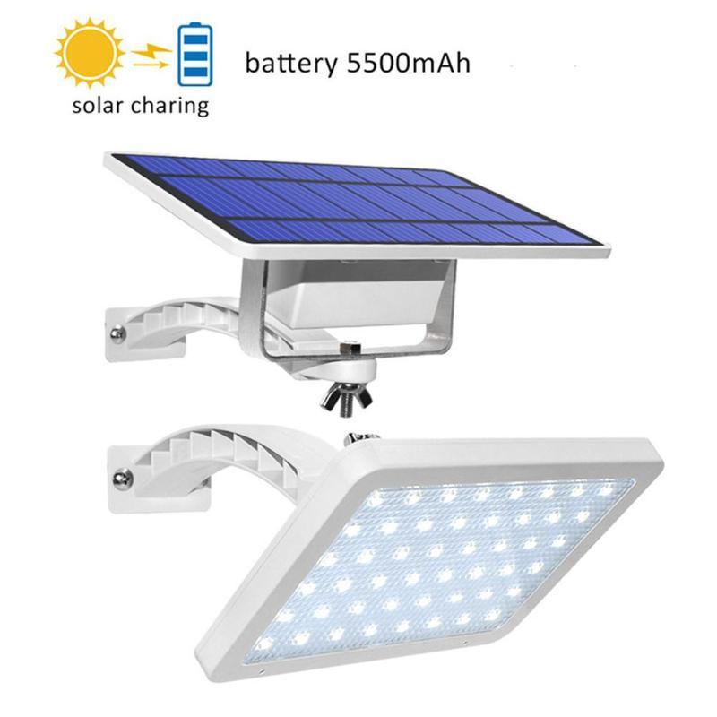 Высокое качество 48LEDS Солнечный свет Открытый светодиодный настенный светильник Водонепроницаемые фонари для садовых ламп