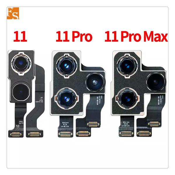 حار مبيعات الظهر كاميرا لآيفون 11 11PRO 11PROMAX 7G 7P 8G 8P X XS XSMAX XR الحقيقي مع أجزاء إصلاح الكابلات المرنة