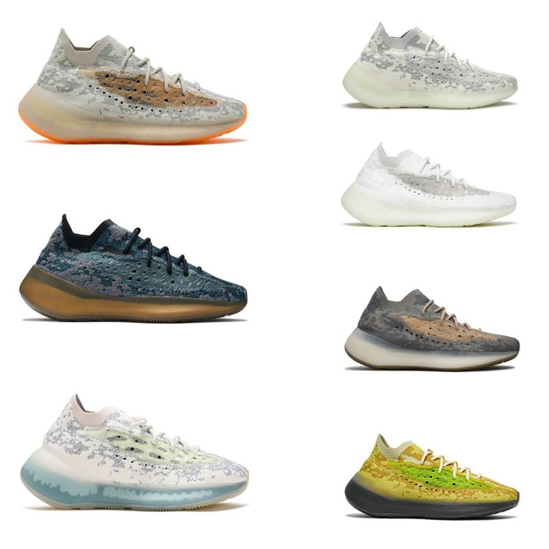 Top Quality 380 Onyx Calcite Glow Hylte Pepper Pimenta Névoa Running Shoes Homens Mulheres Azure Alien Lmnte Sports Sneakers Tamanho 36-47