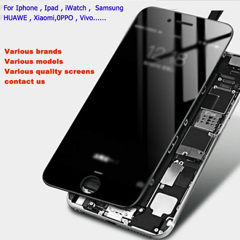 LCD Display High Brightness Pass Sunglasses Test Touch Digitizer Complete Screen Full Assembly Replacement for iPhone 6P with Tianma
