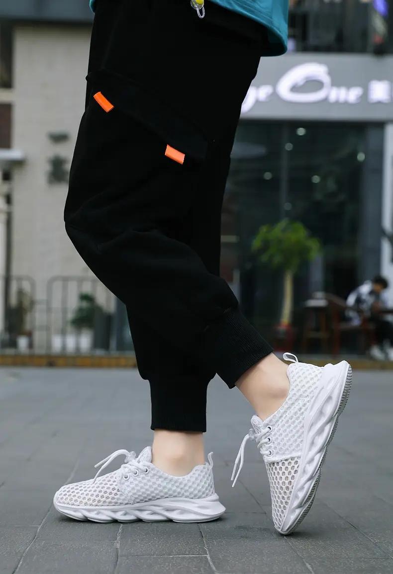 أعلى جودة الاحذية الرجال والنساء رئيس رياضي رياضي تتصدر حذاء رياضة بيضاء Whtie الأسود