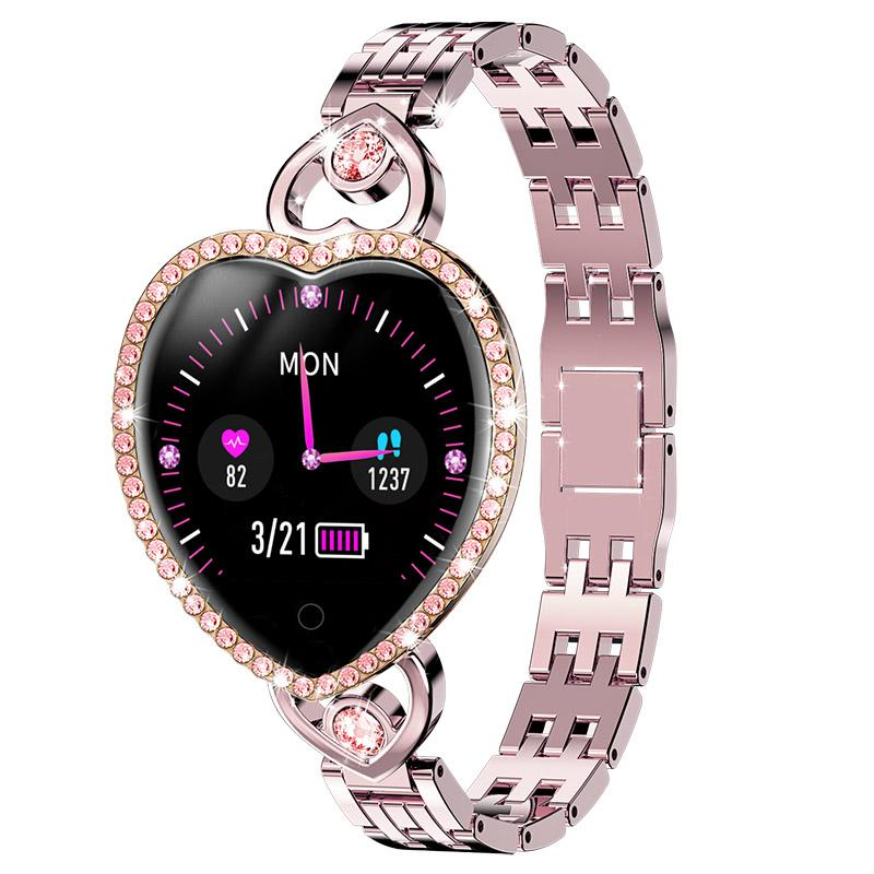 T52 Smart Watch Donne Bride Braccialetto Informazioni Promemoria Orologio Sport Band Sport Sleep Sleep Pressure frequenza cardiaca Monitor Fitness Tracker Girl SmartWatch 2021