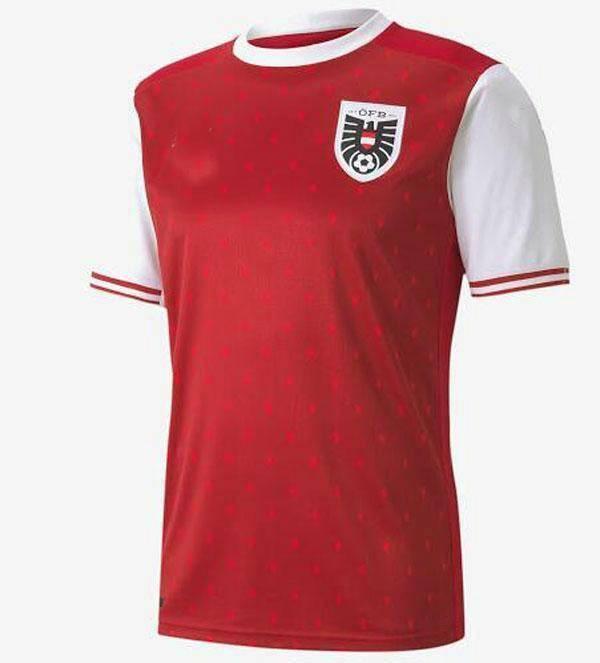 새로운 2020 오스트리아 홈 축구 유니폼 20 21 David Alaba 2021 멀리 ArnaUtovic Sabitzer Grillitsch Camisetas 축구 셔츠