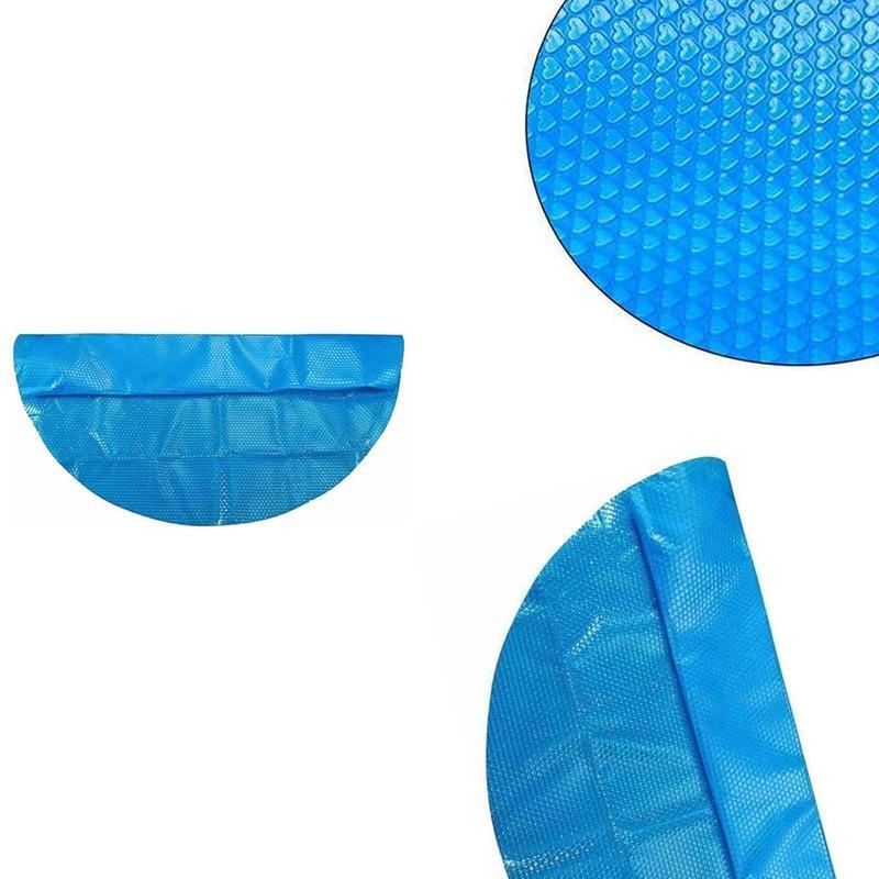 Pool & Accessories Cover,Round Solar Swimming Tub Cover,Outdoor Dustproof Rain Cover,Bubble Blanket