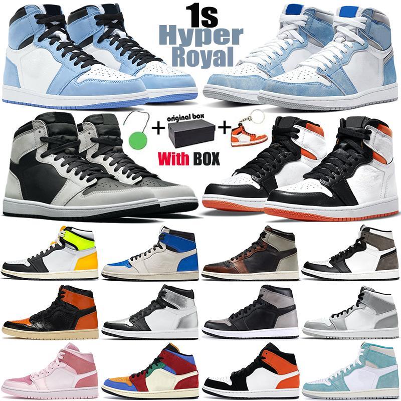 أحذية كرة السلة للرجالair jordan 1 retro 1s aj1  1s عالية OG رجل نسائي Jumpman 1 أحذية رياضية رياضية في الهواء الطلق