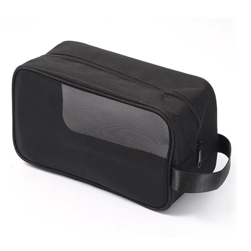 Сумки COOFIT 1 шт. Черный туалетные изделия сумка большой емкости сетки ткани косметический макияж организатор для наружного путешествия
