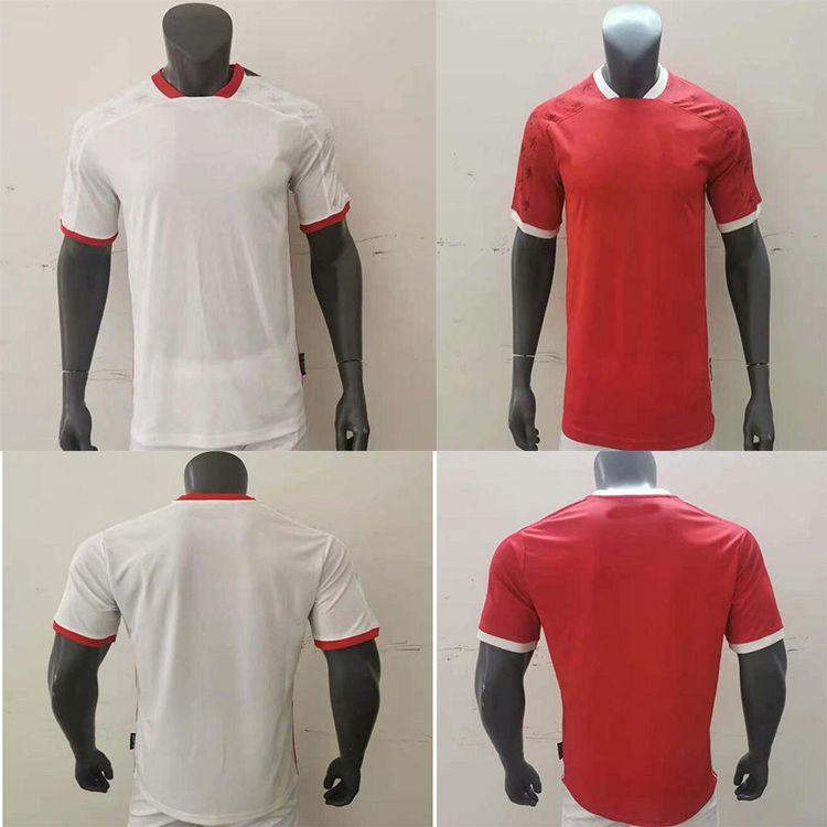 2021/2022 América de cali futebol jersey 21 22 casa vermelha manga curta homens camisas de futebol longe branco maillots pé