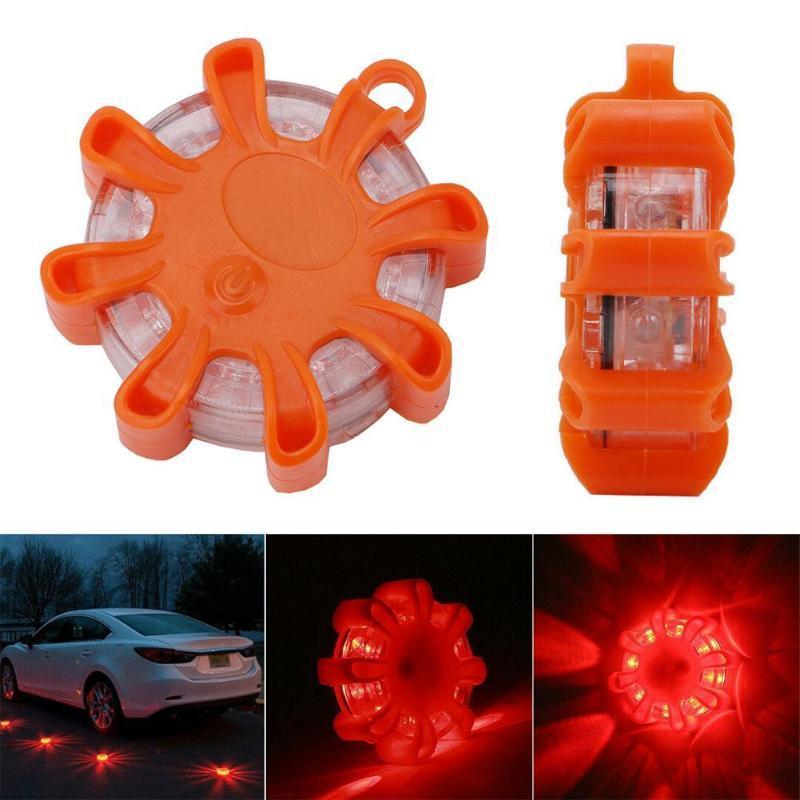 자기 비상 길가 안전 빛 IP44 도로 플레어 구조 LED 스트로브 경고 손전등 자동차 비콘 램프 조명