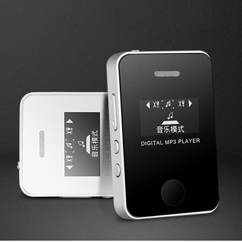 Oyuncu Mini USB LCD Ekran Müzik Medya Oynatıcılar Destek 16 GB Mikro SD TF Kart Taşınabilir Moda MP3 O7 MP4