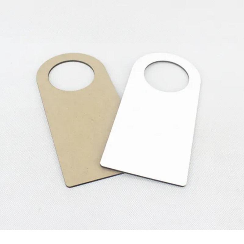 Wooden Made Dye Sublimation MDF Board Gate Knock Decoration Hanging Sign No Disturb Door Hangers GGA4691