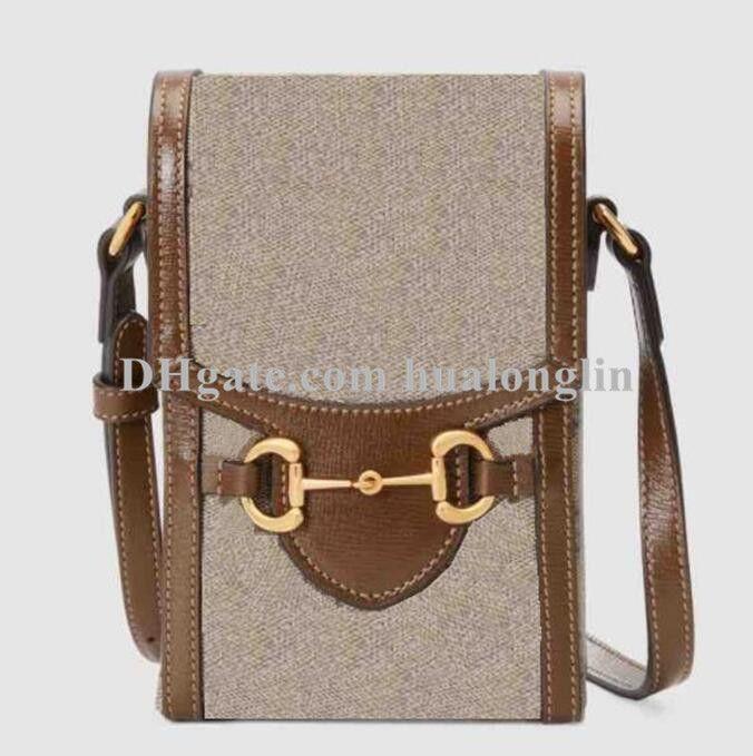 Mulheres bolsa bolsa caixa original caixa de telefone celular caso de alta qualidade moda ombro cruz cruzar corpo
