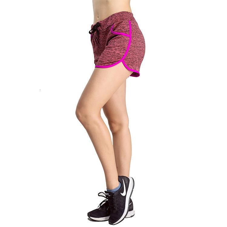 Leggings costume yoga détendu des femmes en été Femme Fast Sec Comforment Polyester Chaque short