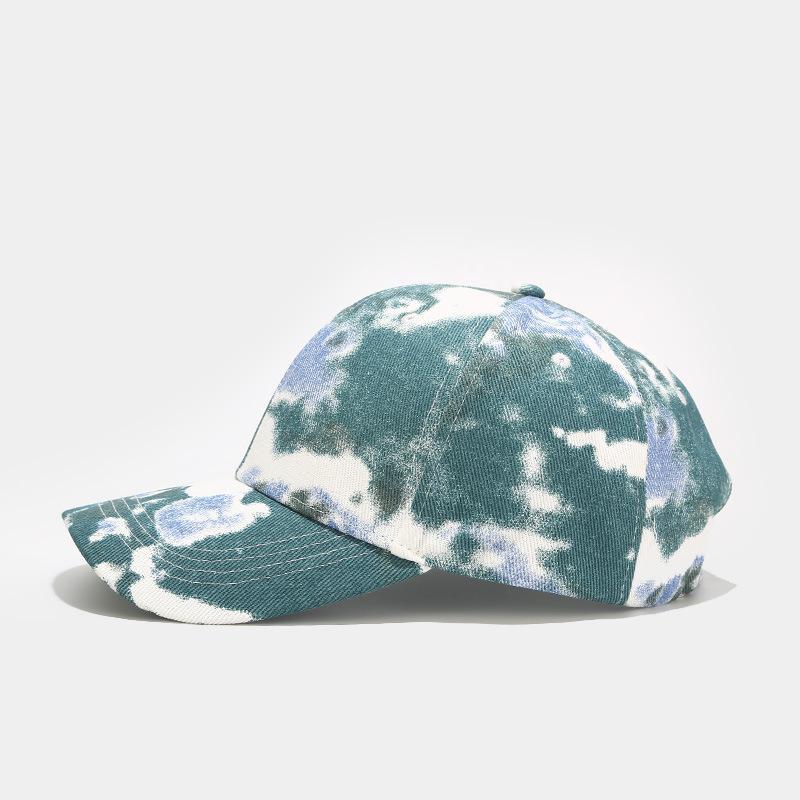 Yeni 2021 Tie-Boya Beyzbol Şapkası ve Joker Gelgit Açık Eğlence Güneşlik Kap Kap Bahar ve Yaz Günleri