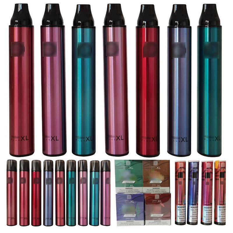 Print Personnalisé Vape Stylo Cigarettes électroniques 25 couleurs différentes femmes colorées homme Vaper jetable 1500 Puffs 650 Mah Posh XL