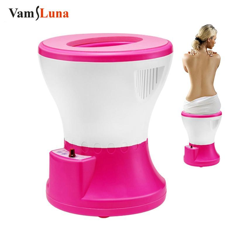 Vams Yoni Steam Seat Far Infrared Vaginal Steaming Spa Regimen Steamer Chair For Women Personal Healthy Care Electric Massagers