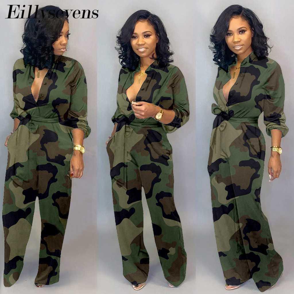 Frauen Camouflage Jumpsuit Club Militär Cargo Shorts Weibliche Spielanzug Plus Größe Print Strampler Reißverschluss Streetwear Chic Overallsuits