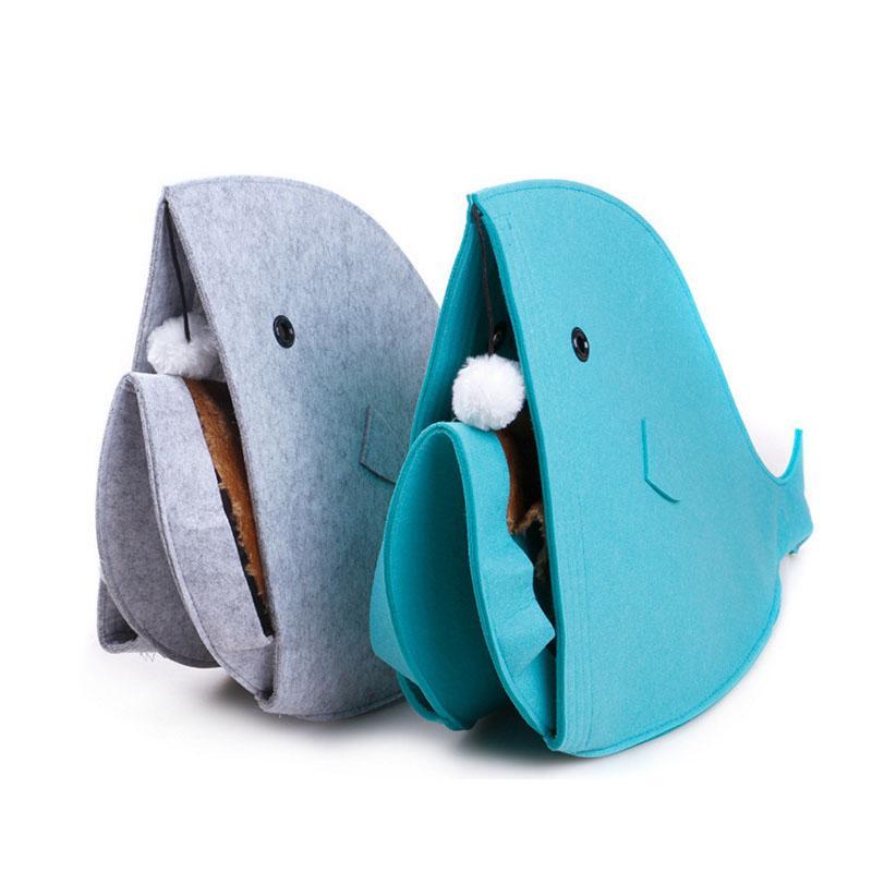 뉴넷 짠 접이식 PET 둥지 고양이 주택, 상어 유형, 탈착식 및 세척 가능한 EWF8001