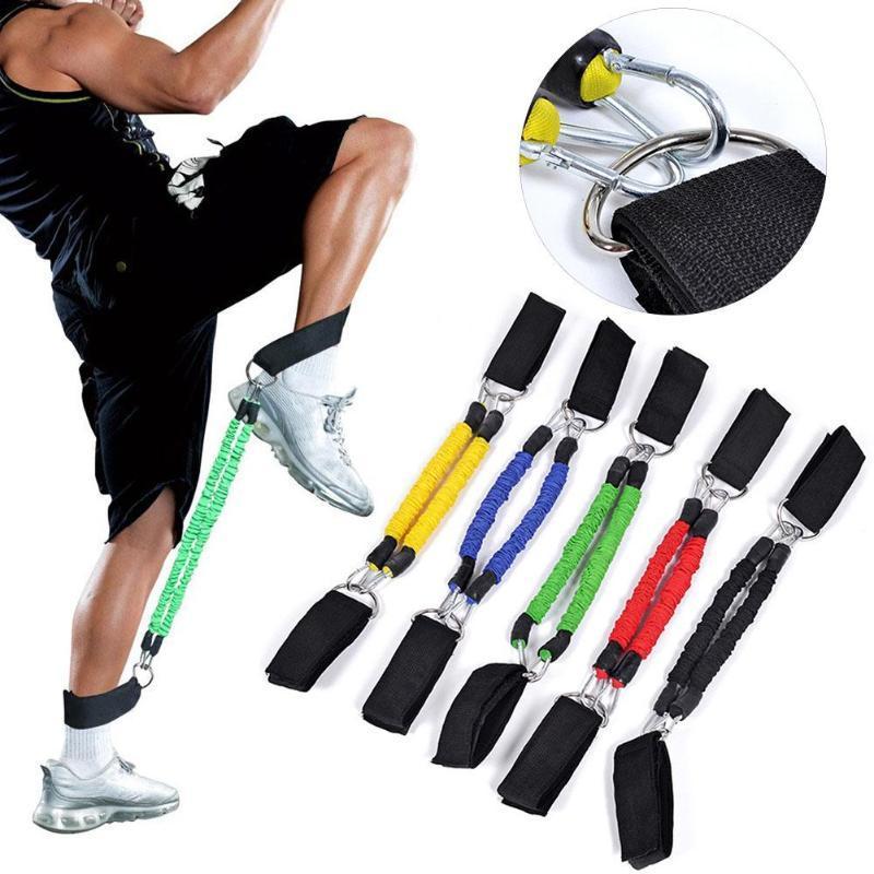 Fitness Ekipmanları Bacak Atlama Kas Çekin Halat Mukavemeti Eğitim Direnç Bant Bantları