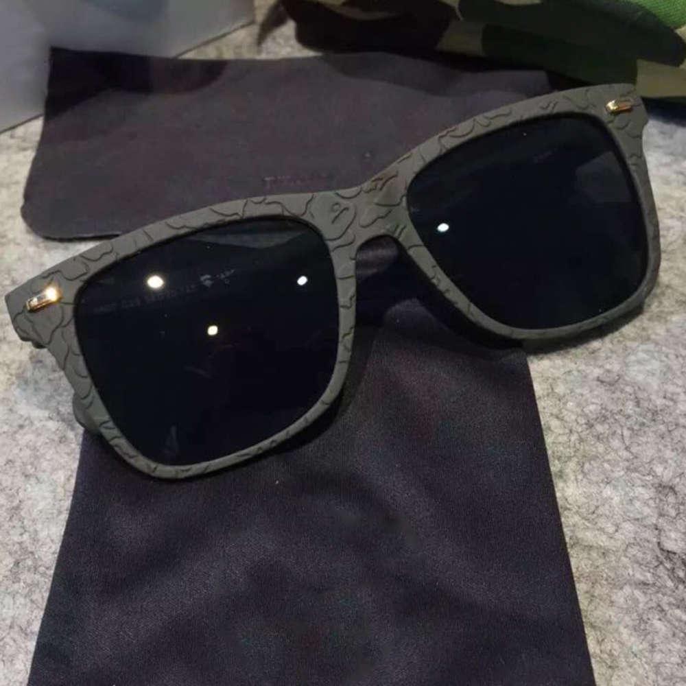 Sonnenbrille Hongkong Chaopai Affe-Kopf mit polarisierter Hilfs-Stereo-Box für Männer und Frauen