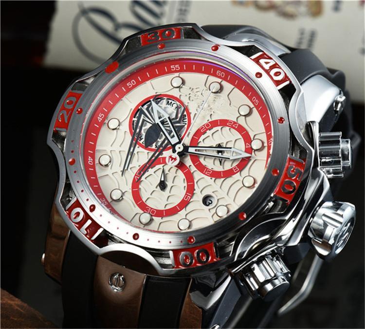 남성 시계 탑 브랜드 럭셔리 실리콘 쿼츠 시계 남자 패션 방수 스포츠 럭셔리 남자 손목 시계 Reloj Hombre