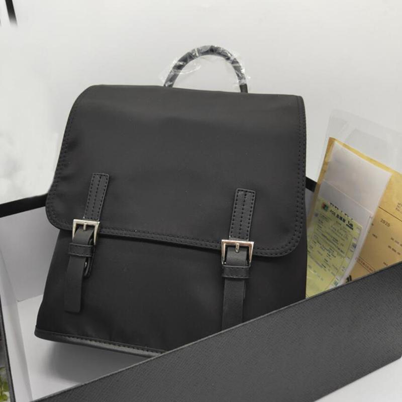 Schultaschen ohne Kiste Hohe Qualität neutral interner Mezzanine Frauen Reißverschluss Mode Umhängetasche Große Kapazität Rucksack Schultasche Männer Reise Handtasche Brieftasche