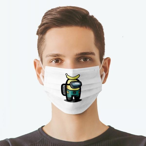 Juegos estampados en los EE. UU. Cara máscaras entre adultos para adultos. Ciclismo Anti-polvo al aire libre.