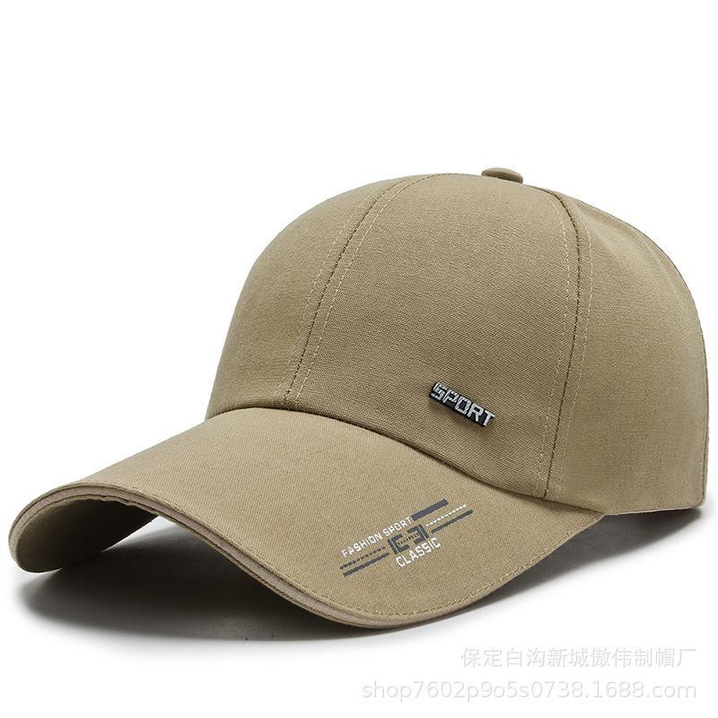 2020 جديد رجل بيسبول كاب مطرز مخصص الترفيه في الهواء الطلق في منتصف العمر وكبار المسنين قبعة كورية نمط الفوز قبعة الشمس