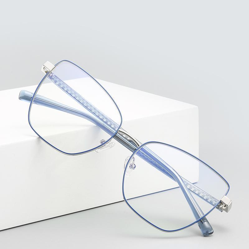 Eyeaglasses ultraligidos Mujeres de lectura de vidrios anti azul claro vidrio retro lector presbiopic Eyewear +1.5 2.0 3.0 4.0 Gafas de sol
