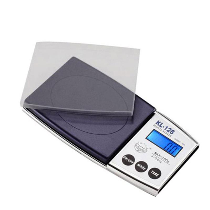 500g/0.01g Portable Pocket Scale LED Electronic Digital Mini Jewelry Kitchen Digitals Scales Measuring Tool