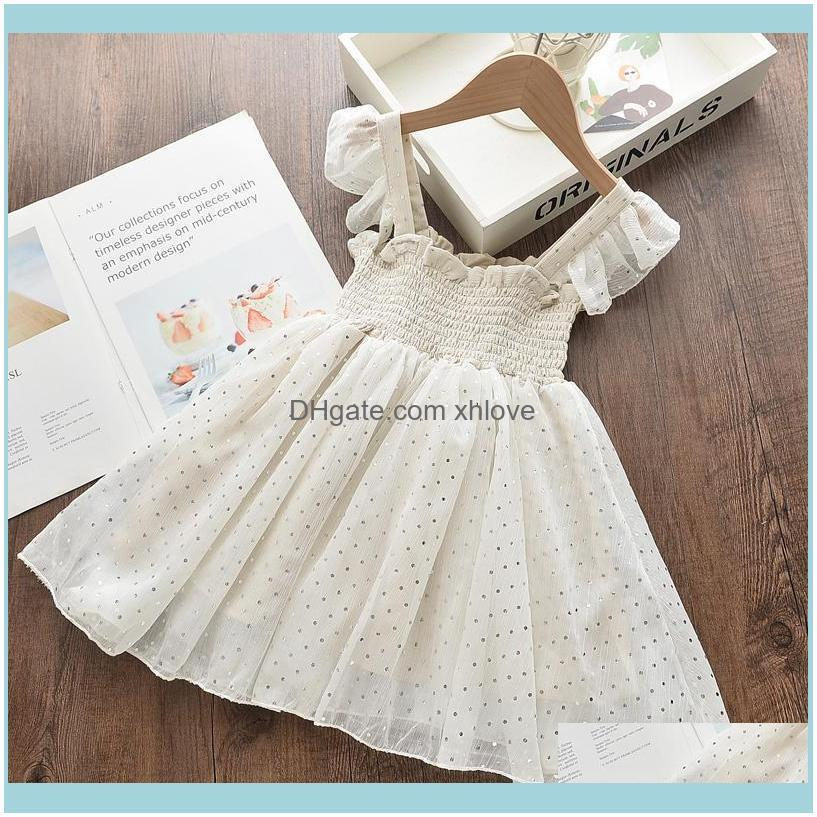 Clothing Baby, & Maternitymelario Princess Dresses Summer Kids Polka Dot Vest Clothes For Girl Cute Baby Mesh Sling Vestidos 2-6Y Girls Drop