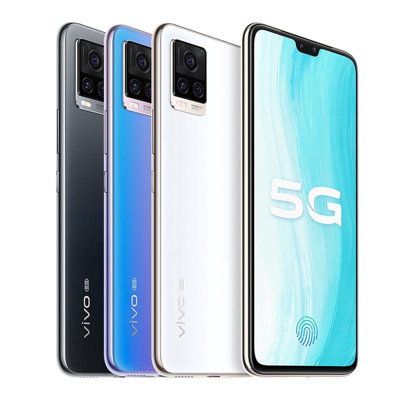 "Original vivo S7 5G Mobiltelefon 8 GB RAM 128 GB 256GB ROM Snapdragon 765g Octa Core 64mp AF NFC 4000mAh Android 6.44 ""Full Screen Fingerabdruck ID Face Wake Smart Handy"
